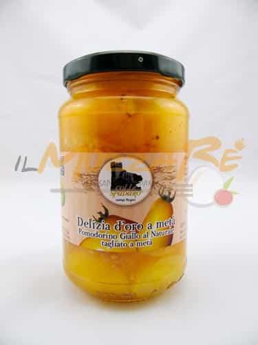 Pomodori Gialli al Naturale - Azienda Agricola Colle Spadaro