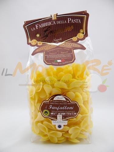 Farfalloni Fabbrica della Pasta di Gragnano