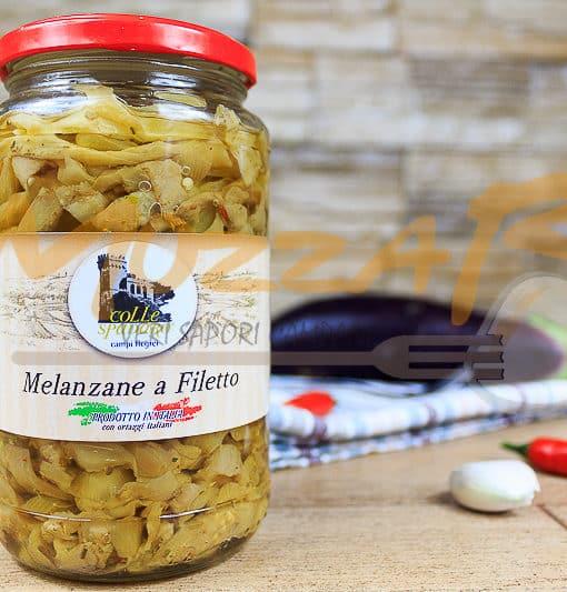 Melanzane a filetto - Azienda Agricola Colle Spadaro