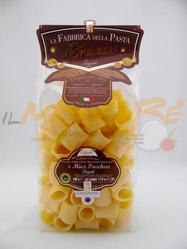 Mezzi Paccheri Rigati Fabbrica della Pasta di Gragnano