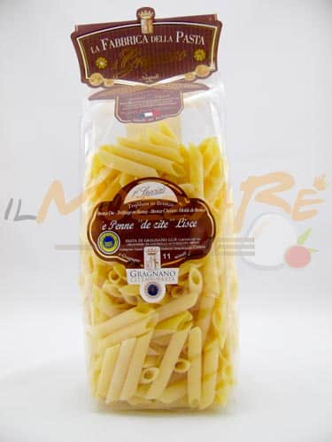 Penne Lisce Fabbrica della Pasta di Gragnano