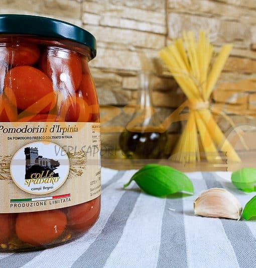 Pomodorini d'Irpinia in acqua - Azienda Agricola Colle Spadaro