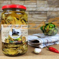 Spicchi di Carciofi Arrostiti - Azienda Agricola Colle Spadaro
