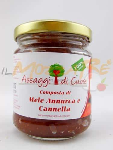 Composta di Mela Annurca e Cannella – Assaggi di Cuore