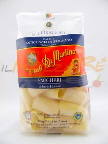 Paccheri – Formato Speciale – Pastificio G. Di Martino di Gragnano IGP