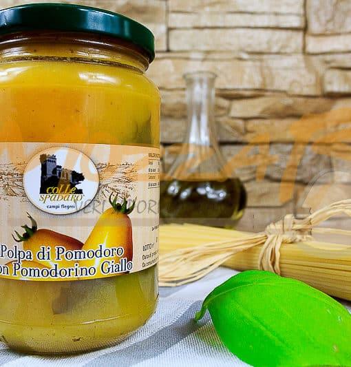 Polpa di Pomodoro con Pomodorino Giallo - Azienda Agricola Colle Spadaro