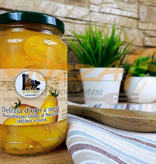 Pomodorino Giallo al Naturale - Azienda Agricola Colle Spadaro