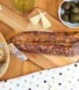 Salsiccia dolce stagionata – Salumificio Ruocco Agerola