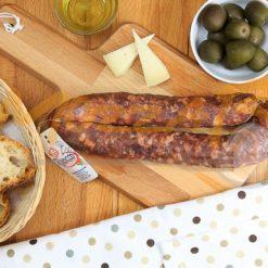 Salsiccia dolce Stagionata - Salumificio Barbato