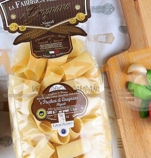 Paccheri Rigati 500gr - Fabbrica della Pasta di Gragnano