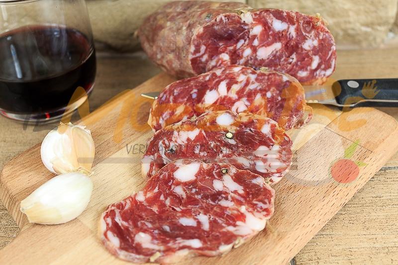 Salame artigianale di Agerola - Salumificio Ruocco